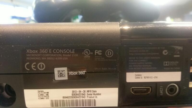 MICROSOFT XBOX 360 - 250GB - MODEL 1439 - CONSOLE