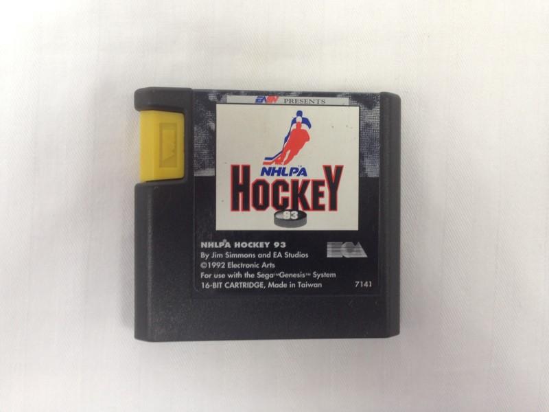 NHLPA Hockey '93 (Sega Genesis)