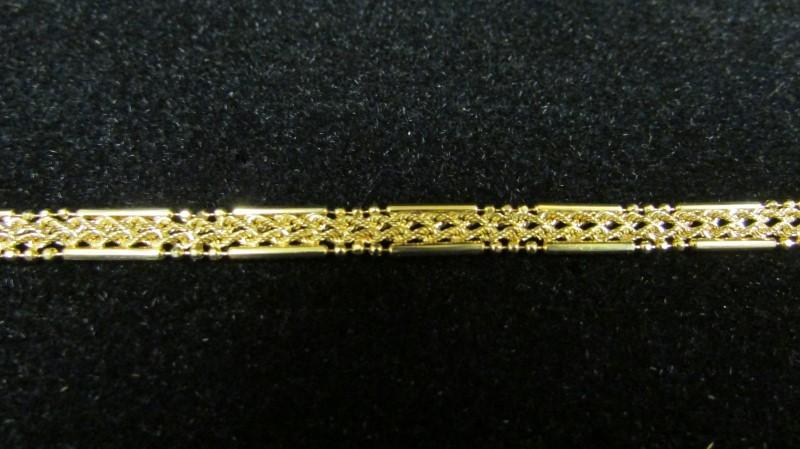 Gold Bracelet 10K Yellow Gold 4.5g