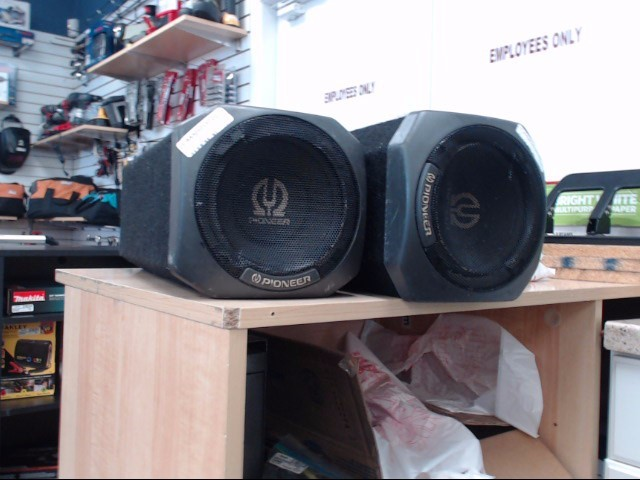 PIONEER ELECTRONICS Car Speakers/Speaker System TS-WX65A