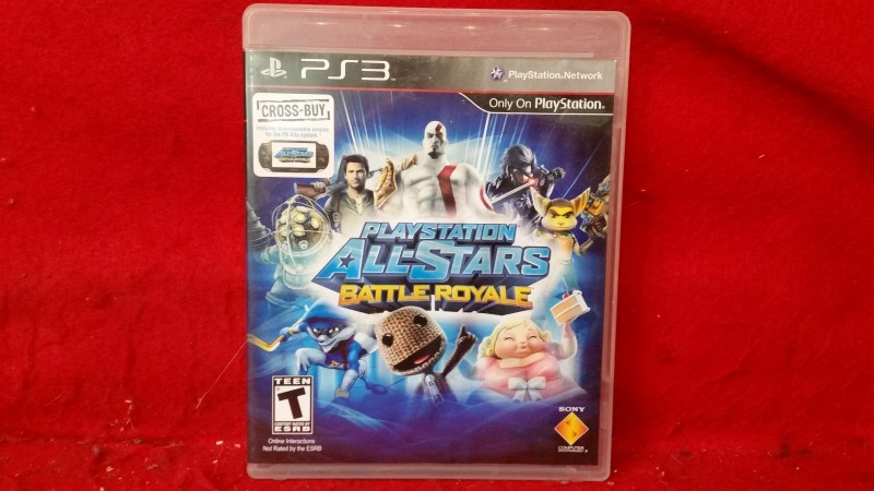 PS3 PlayStation All-Stars Battle Royale (Sony PlayStation 3, 2012)