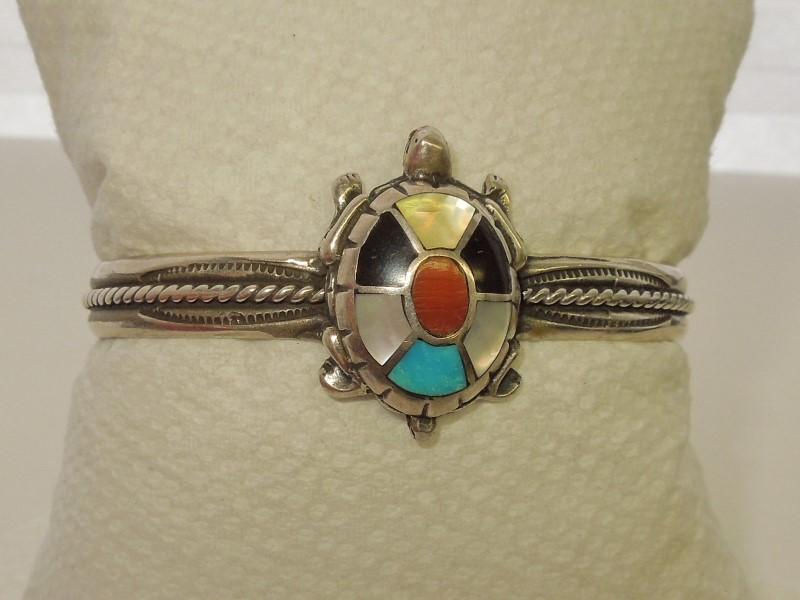 Black Stone Silver-Stone Bracelet 925 Silver 22.6g