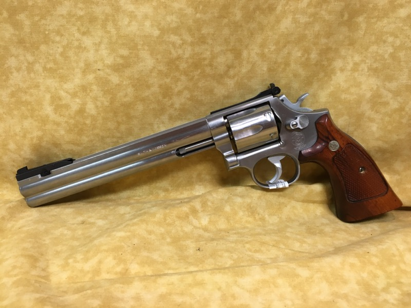 """Smith & Wesson 686-2 8-3/8"""" Silhouette Target 357Mag Revolver - Stainless"""