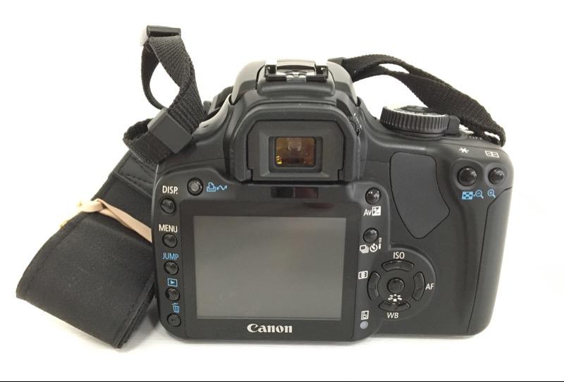 Canon Eos Rebel XTI 400D Digital DSLR 10.1MP Camera BUNDLE!