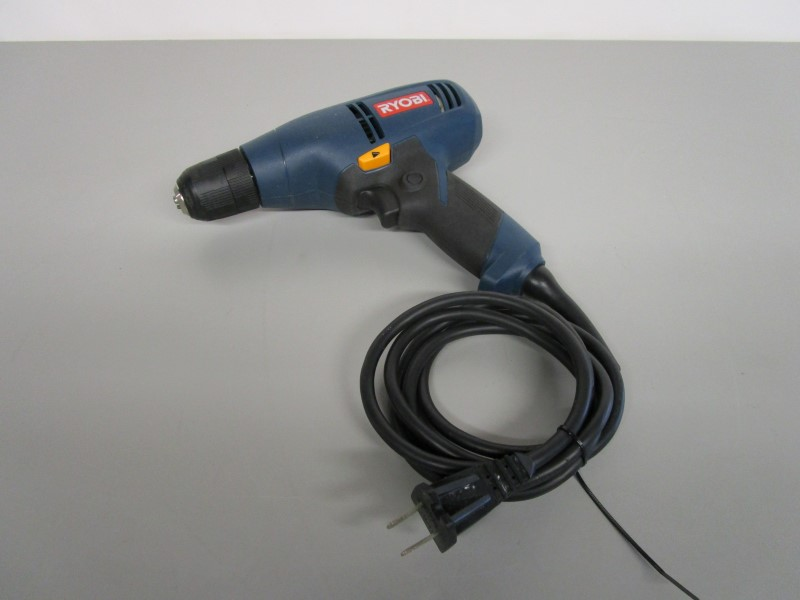 """RYOBI D42 3/8"""" CORDED DRILL, TESTED, WORKS GREAT"""