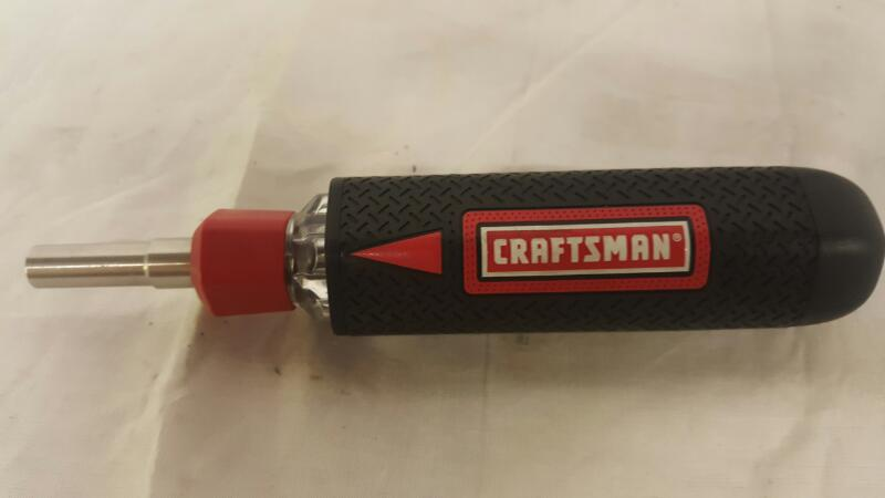 CRAFTSMAN Screwdriver AUTO LOADING MULTI-BIT SCREW DRIVER