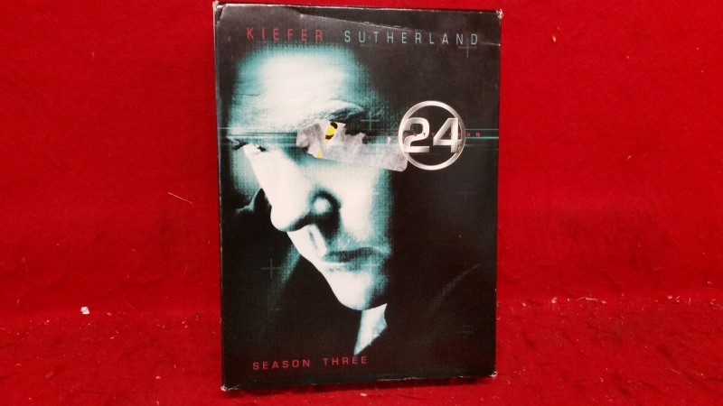 24 - Third 3rd Season 3 Three (DVD, 2009, 6-Disc Set)
