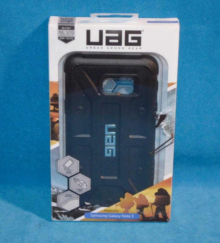 UAG Cell Phone Case UAG-GLXN5-BLK-VP