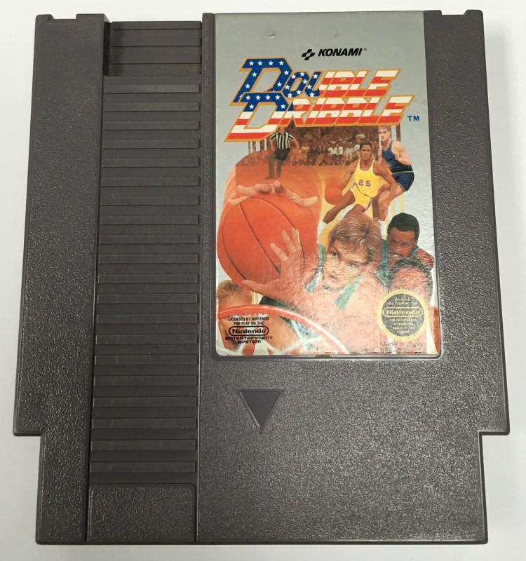 DOUBLE DRIBBLE (NES NINTENDO ENTERTAINMENT SYSTEM, 1987)