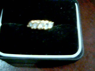Lady's Gold Ring 10K Yellow Gold 2.8g Size:5