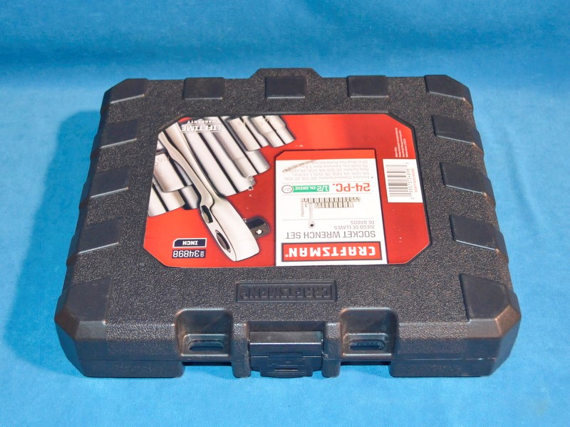 CRAFTSMAN Sockets/Ratchet 9.34898 1/2 INCH DRIVE SOCKET SET