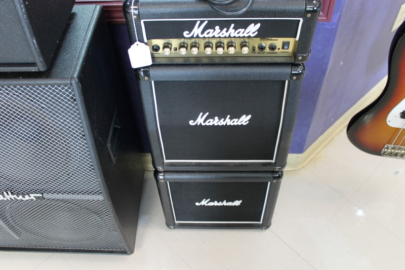 "Marshall MG15MSII Micro Stack Amp Head & 2 10"" Speaker Cabinets Guitar Amplifier"