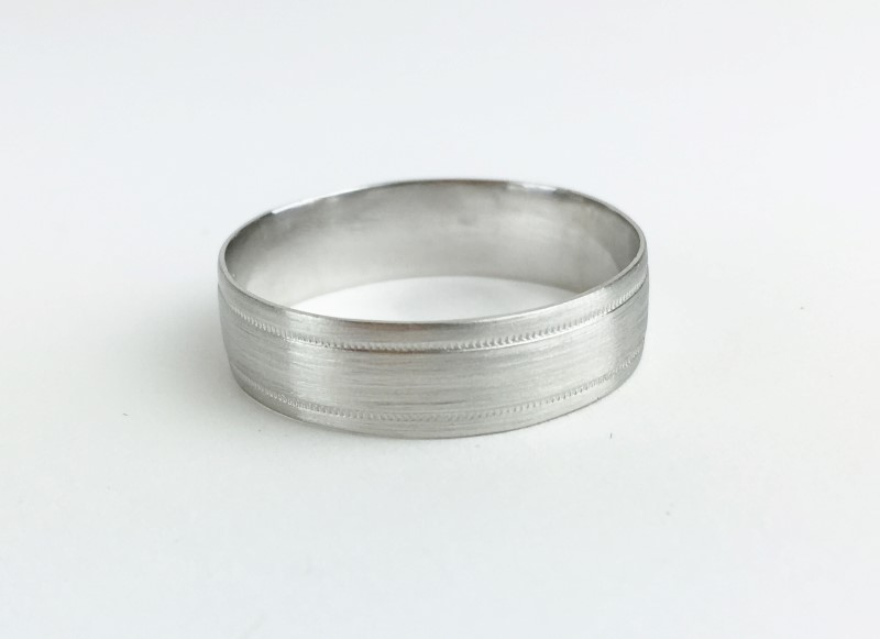 Platinum Wedding Band 950 Platinum 5.1g Size:10