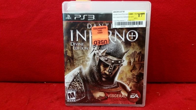 Dante's Inferno -- Divine Edition (Sony PlayStation 3, 2010)