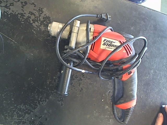 BLACK&DECKER Corded Drill FIRE STORM FS6500HD