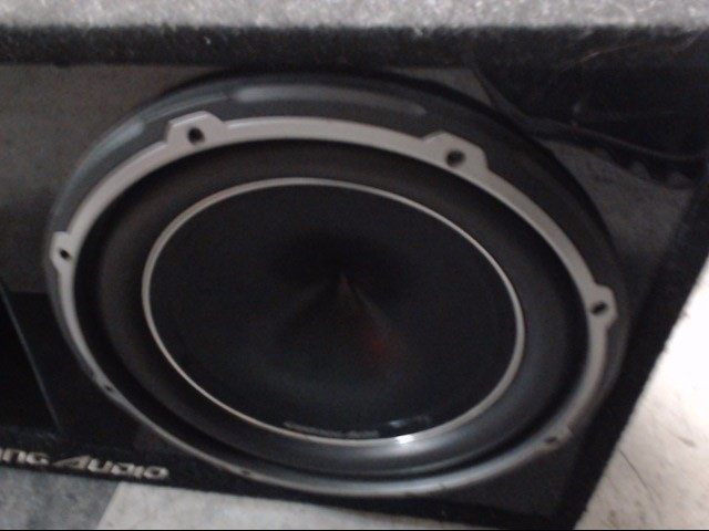 "LIGHTNING AUDIO Subwoofer 12"" SUBS AND BOX"
