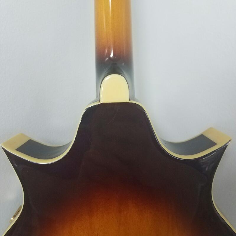 Iida Florentine Mandolin with Hard Case