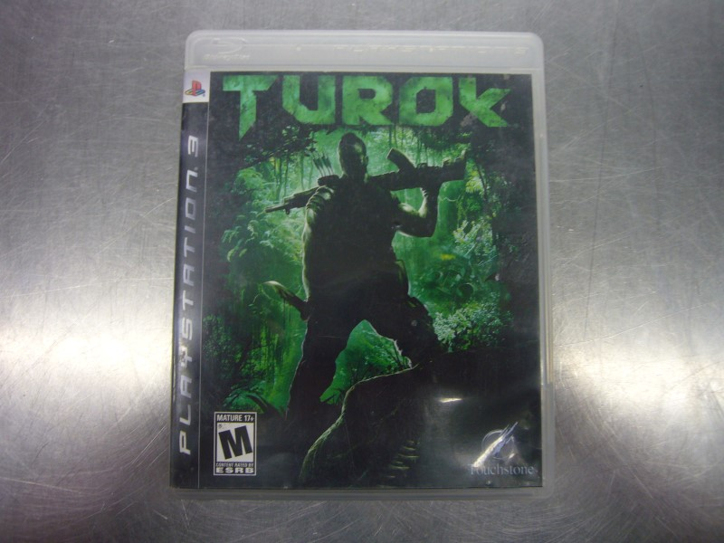 SONY PlayStation 3 Game TUROK