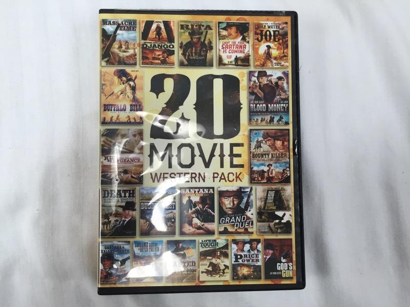 20 MOVIE WESTERN PACK