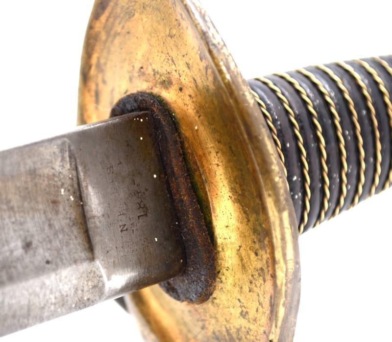 """NP Ames Cabotville MA 1846 Wrist Breaker 36"""" Saber Sword"""