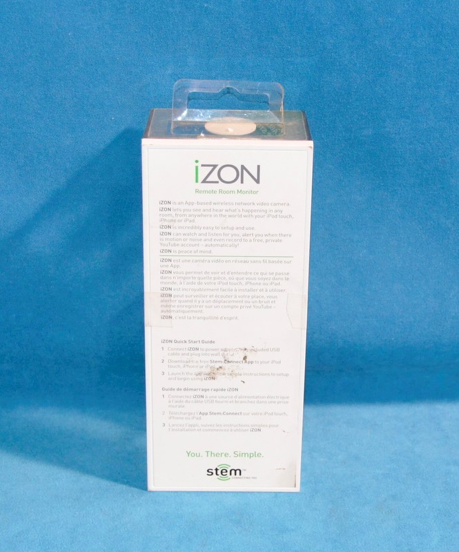 STEM IZON 2.0 REMOTE ROOM MONITOR CAMERA