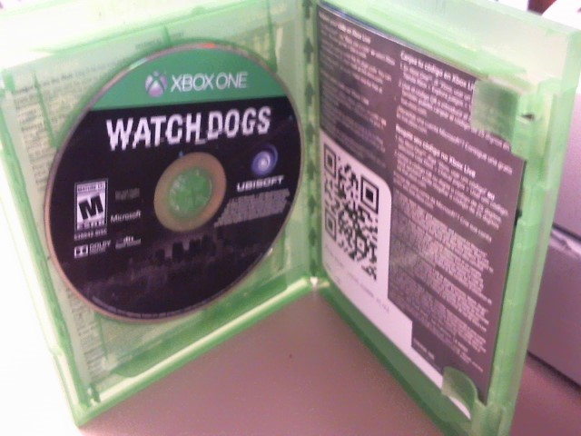 WATCH DOGS-XBOX ONE