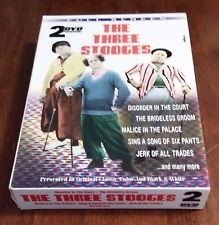 DVD MOVIE DVD THE THREE STOOGES TWO DVD COLLECTION
