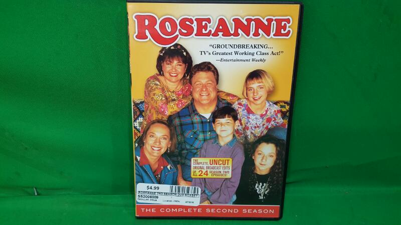 DVD BOX SET ROSEANNE 2ND SEASON