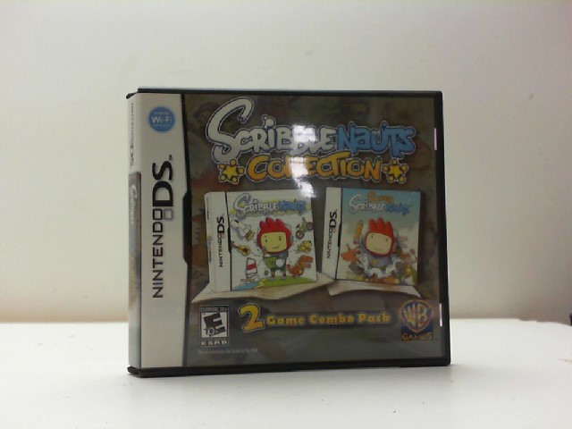 NINTENDO Nintendo DS Game SCRIBBLENAUTS COLLECTION