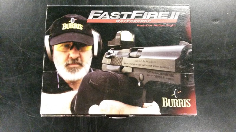 BURRIS Firearm Scope FASTFIRE II