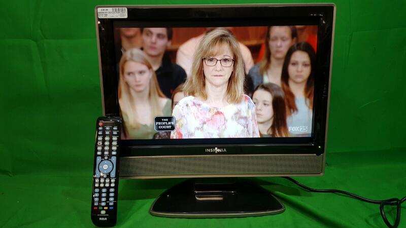 "INSIGNIA 19"" Flat Panel Television E197MZNK3WBYNN"