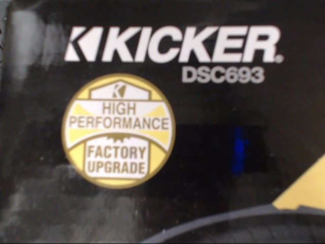 KICKER Car Speakers/Speaker System DSC693