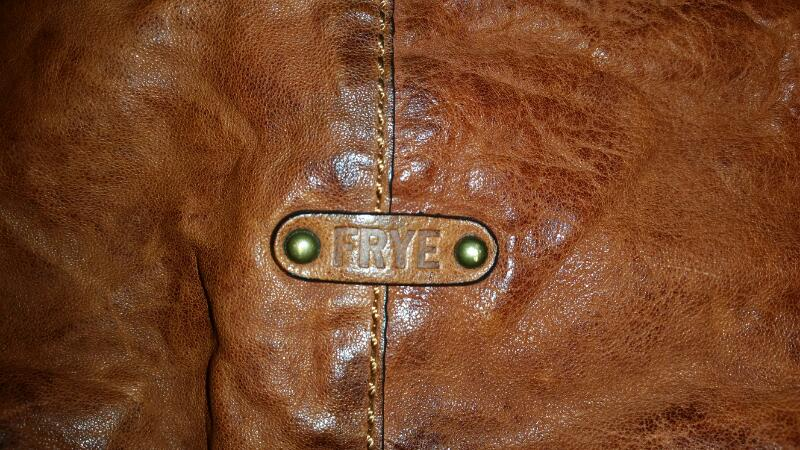 Frye Cameron Hobo Leather Handbag Purse (Brown/Cognac) w/ Dust Bag