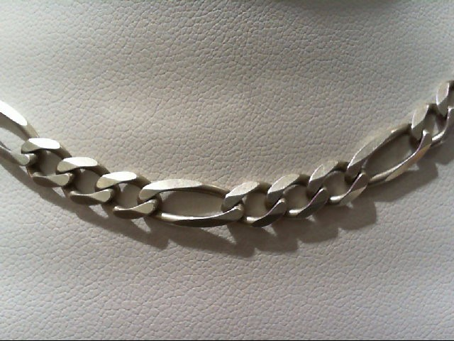 Silver Figaro Chain 925 Silver 17g