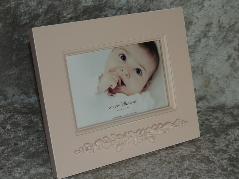 Wendy Bellissimo Picture Frame Pink Baby & Kids