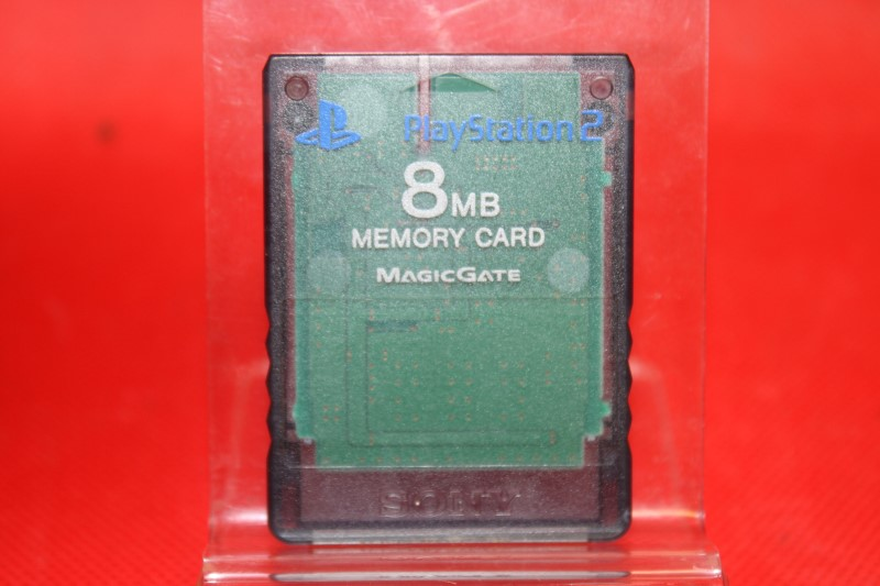 Playstation 2 PS2 Official Memory Card Transparent SCPH-10020