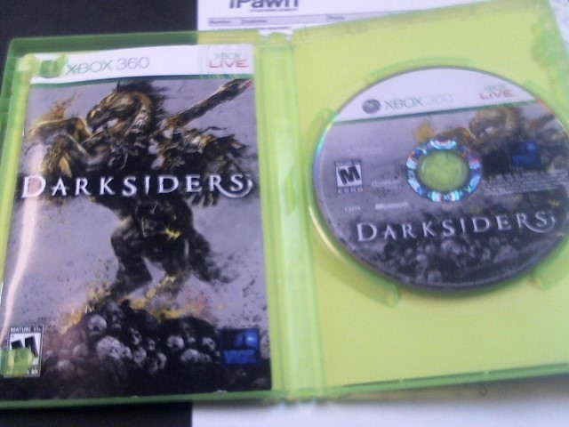 Microsoft XBOX 360 Game DARKSIDERS
