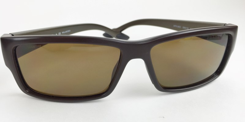 PRADA NAS-5Y1 BROWN SUNGLASSES