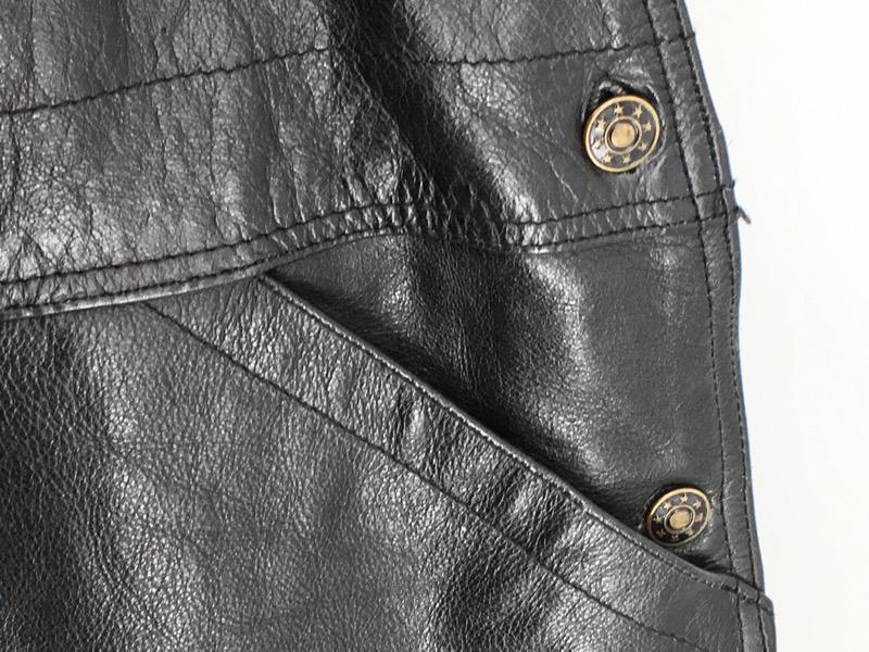 Unik Leather Overalls XXXL