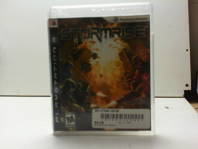 SONY Sony PlayStation 3 Game STORMRISE