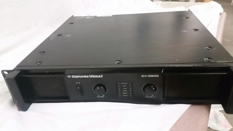 CERWIN VEGA Amplifier CV-2800