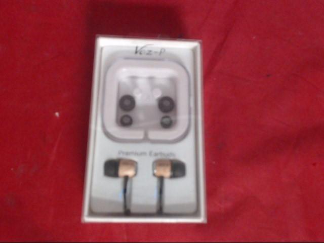VOZ-P Headphones EARBUDS
