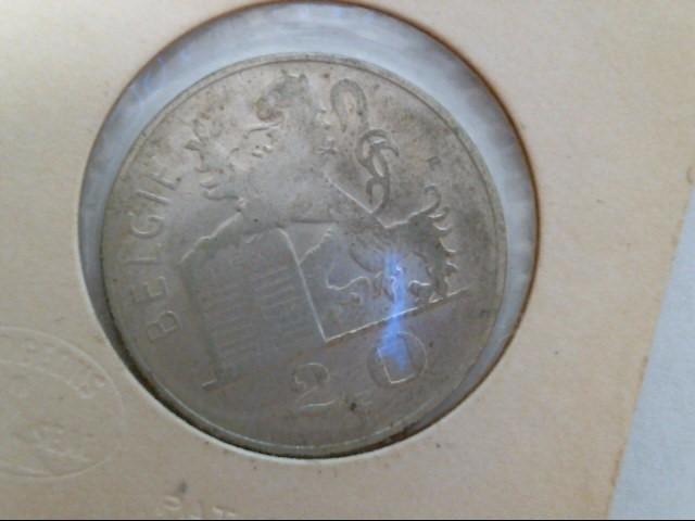 BELGIUM Coin 1949 COIN