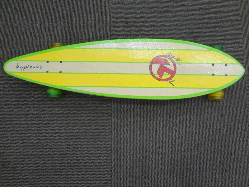 "KRYPTONICS 38"" PINTAIL COMPLETE LONGBOARD"