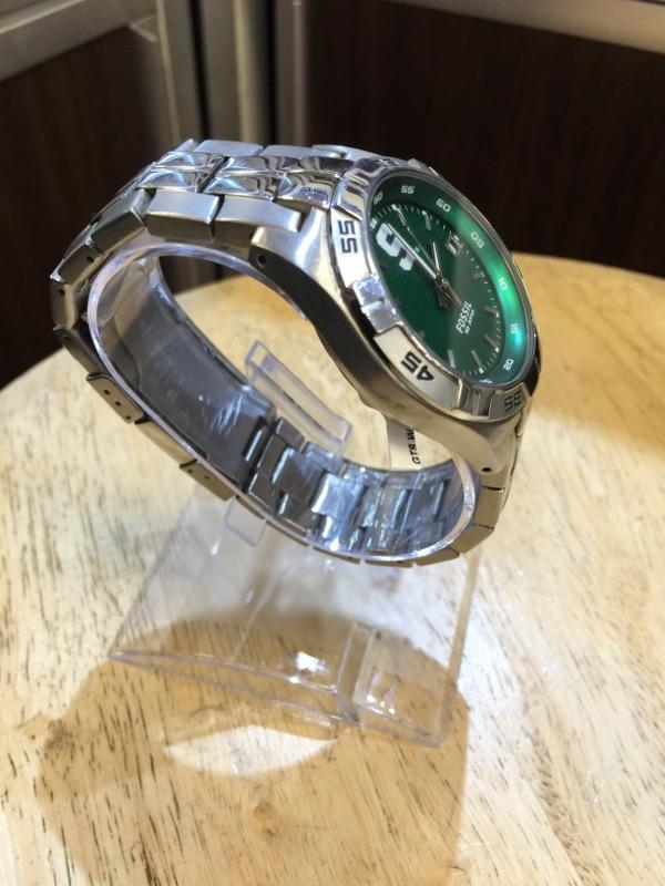 FOSSIL Gent's Wristwatch MICHIGAN STATE WATCH