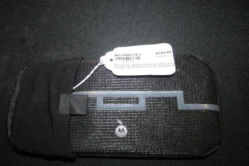 Motorola SOL REPUBLIC Deck EQ700 Red Bluetooth Speaker