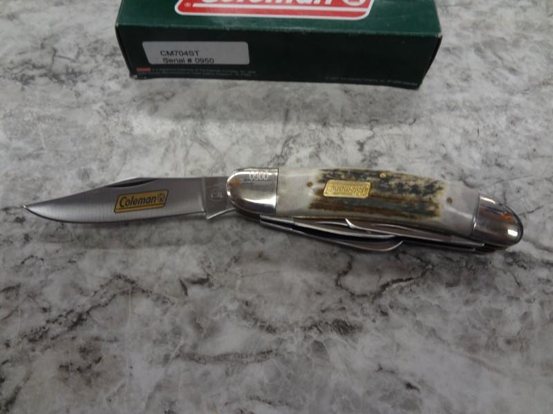 COLEMAN POCKET KNIFE, LIMITED ED