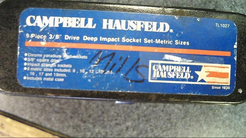 CAMPBELL HAUSFELD TL1027 8pc impact socket set