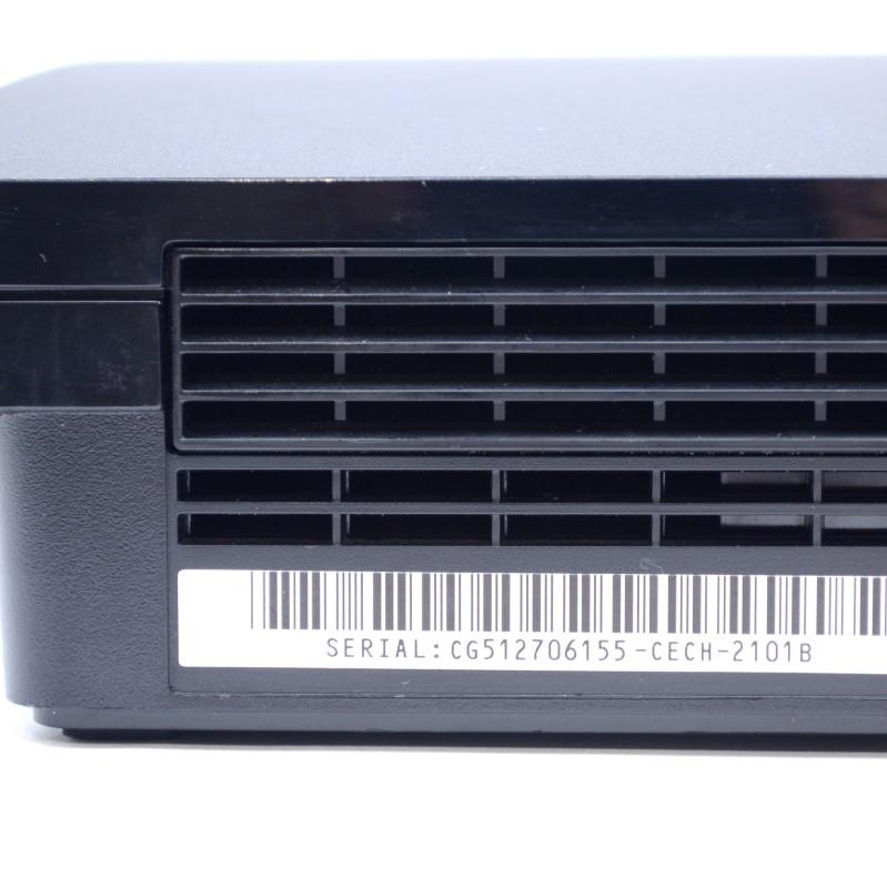 Sony Playstation 3 CECH-2101B Console 250GB PS3 Slim System Bundle>
