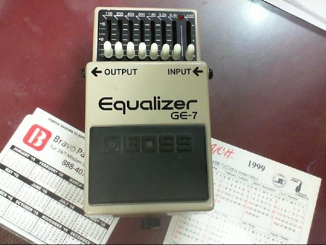 BOSS Effect Equipment GE-7